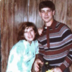 Aunt Amanda and my dad. :)